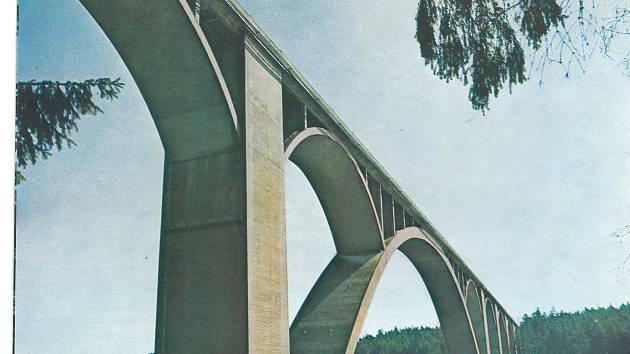 Podolský most na Písecku. Ilustrační foto