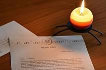 Starostka Písku zaslala kondolenční dopis Ivaně Gottové.