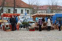 Adventní řemeslné trhy v Písku.