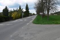 Petrovická ulice v Milevsku.