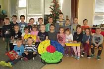 Vánoční nadílka v MŠ Čimelice.