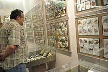 Hrací karty v Prácheňském muzeu v Písku.