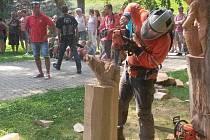 Do Vimperka se chystají dřevosochaři.