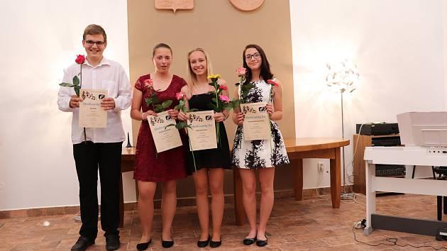 Absolventský koncert volarských flétnistek a klarinetisty.