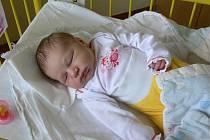 Eliška Borovanská se v prachatické porodnici narodila v pátek 29. června v 09.26 hodin. Holčička vážila 3270 gramů a měřila 48 centimetrů. Rodiče Alena a Karel jsou z Netolic. Doma se na sestřičku těšil tříletý bráška Karel.