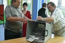 Volební účast byla solidní.