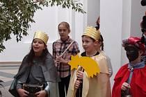 Tři králové zavítali ke starostovi.