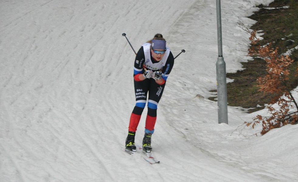 Stašští lyžaři si v kategorii dorostu vedli opět skvěle.