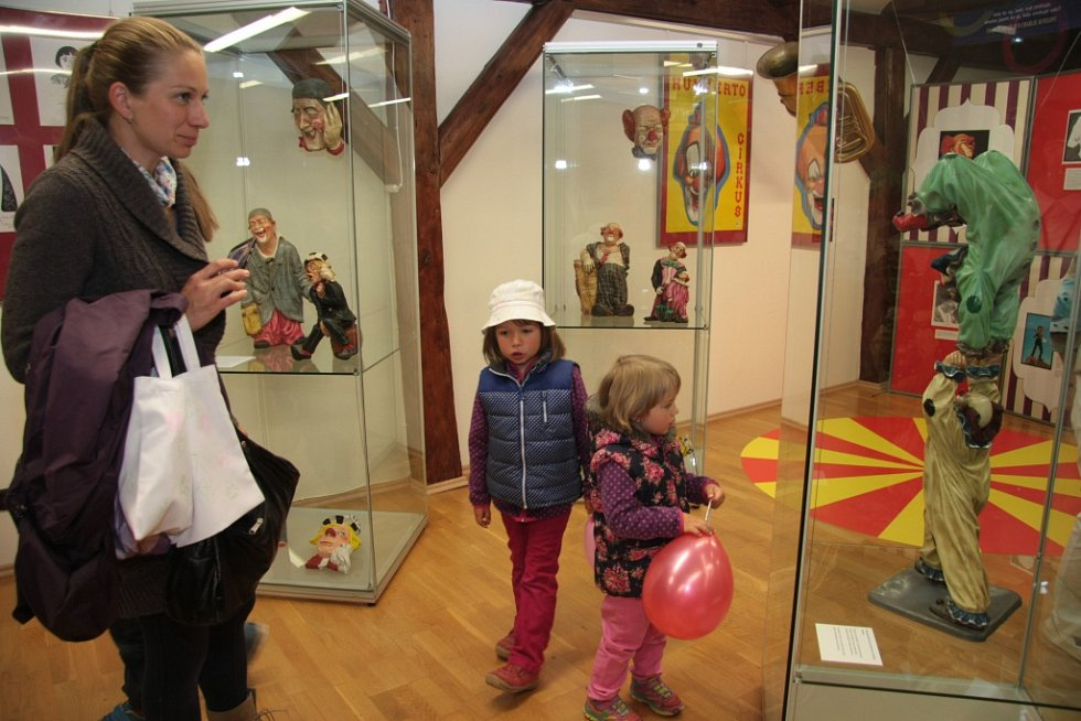 Muzeum české loutky a cirkusu v Prachaticích. Ilustrační foto