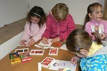 Děti se seznámily s vánočním příběhem.