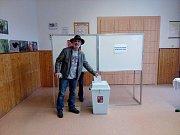 Parlamentní volby ve Vimperku - 4. okrsek.