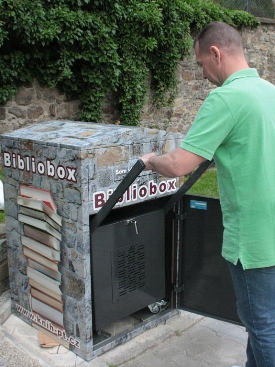 Bibliobox usnadní čtenářům vracení knih do knihovny.
