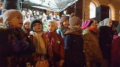 Česko zpívalo koledy v Prachaticích.