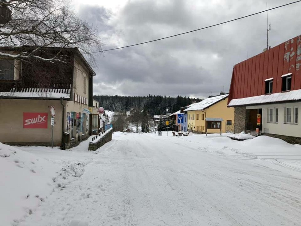 Na Kvildu se vrátila zima s plnou parádou.
