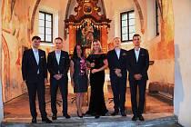 Poslední prázdninový koncert Klarinetového souboru Prachatice v kostele sv. Anny na Libínském Sedle.