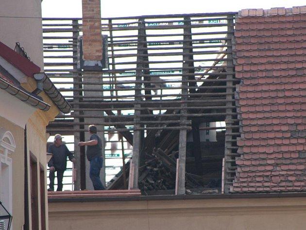 Město pokračuje v opravách svých domů v historickém centru Prachatic.