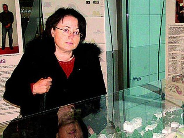 INSPIRACE. Na výstavu jela i Hana Mrázová.