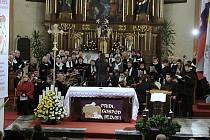 V kostele sv. mikuláše v Lublani.