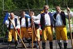 Jelenovršské slavnosti u Schwarzenberského plavebního kanálu.