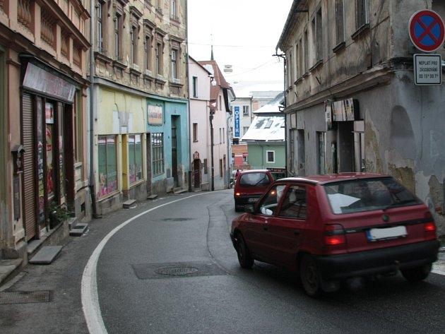 Pivovarská ulice ve Vimperku, ilustrační foto.