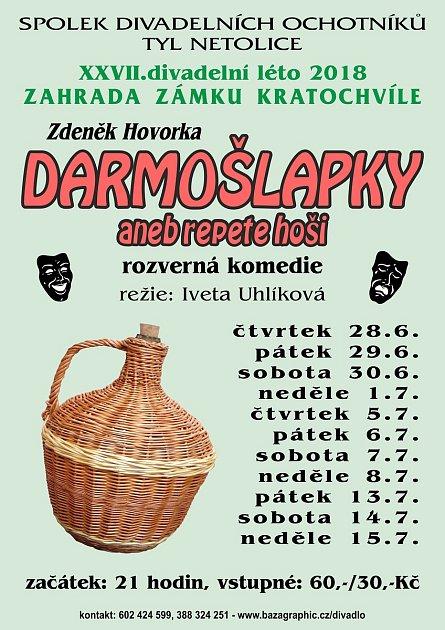 Divadelní léto na Kratochvíli začíná už 28.června.