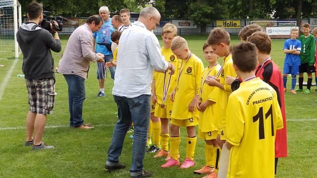 Hráči U12 OFS Prachatice si zahráli národní finále.