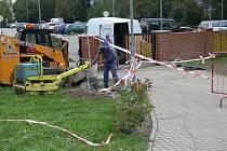 Hlavní část prací v zahradě domova pro seniory byla dokončena už na podzim loňského roku.