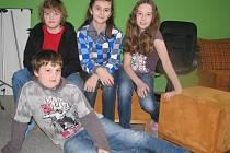 Na dotazy redaktorky odpovídali žáci Základní školy Vodňanská.