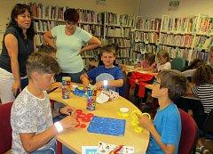 Čtenáři Městské knihovny v Prachaticích se loučili se školním rokem.