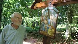 Nová křížová cesta ke Stožecké kapli