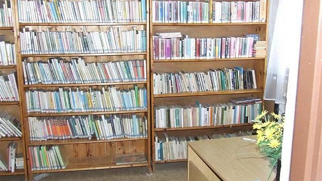 Knihovna ve Ktiši.