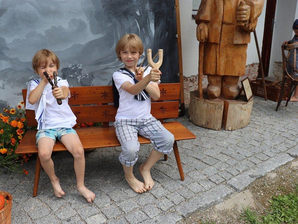 Ve Volarském muzeu se fotografovalo po Seidlovsku.