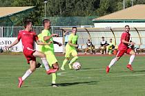 Prachatičtí fotbalisté v úvodu sezony porazili Osek. Na Rudolfově se jim však nedařilo. Ilustrační foto.
