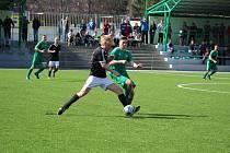 Fotbalová A třída: Prachatice - Loko ČB 2:2.