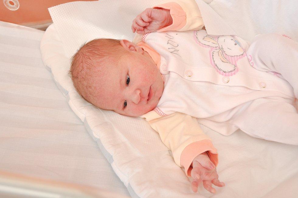 JOHANKA VOJTOVÁ, NOVÉ HUTĚ.Narodila se v pondělí 26. srpna v 18.15 hodin ve strakonické porodnici. Vážila 3370 gramů. Má sestřičky Aničku (5let) a Julinku (3,5 roku). Rodiče: Lucie a Jiří.