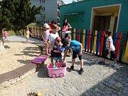 Děti slavily svůj den.