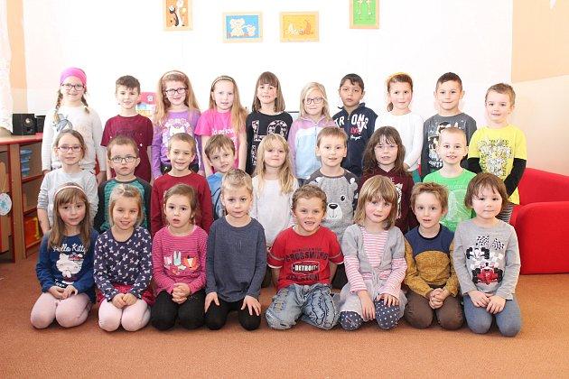 Představujeme děti ze 3.a 4.třídy MŠ Netolice.