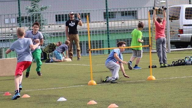 Projekt pro děti Pojď si vybrat, co tě baví na sportovištích Sportovního zařízení Prachatice. Ilustrační foto