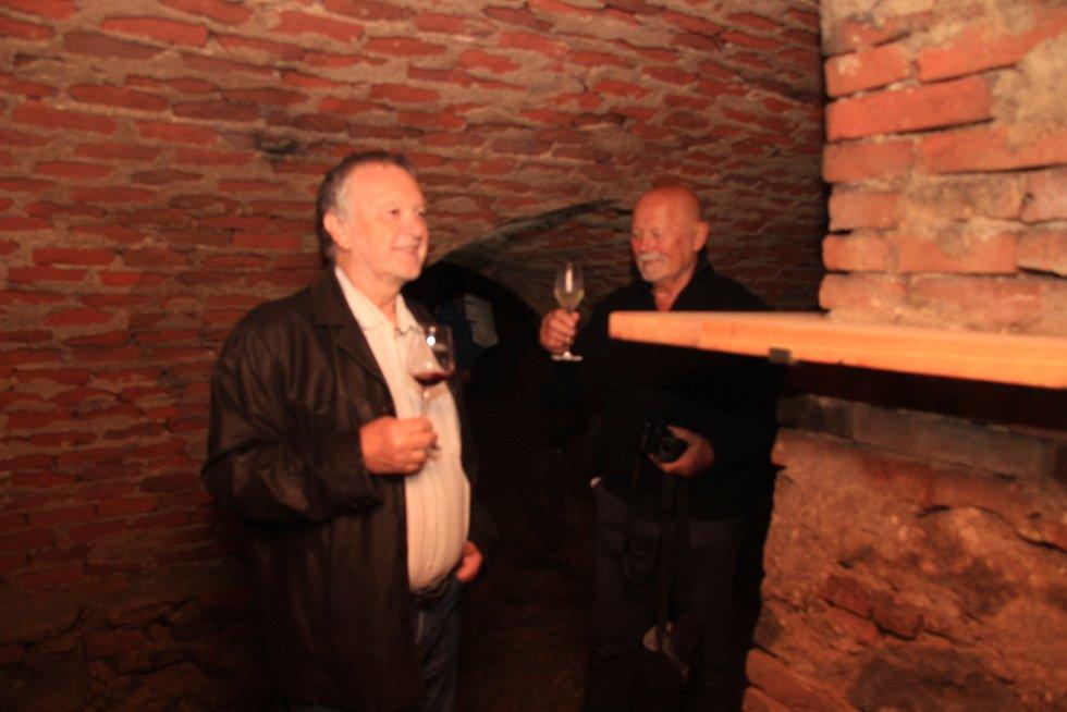 Staronové prostory vinárny Punkva ve sklepení jednoho z prachatických historických domů na Velkém náměstí jsou po dvaceti letech opět otevřené.