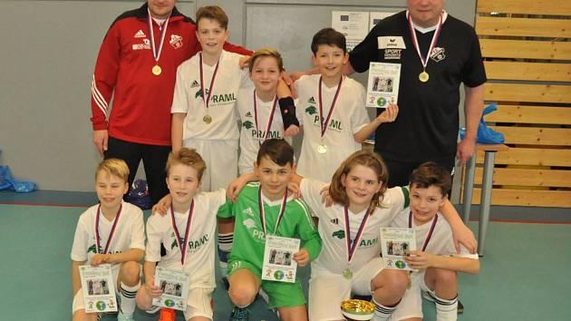 Mladí fotbalisté si zahráli o Pohár Krále Šumavy.