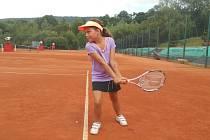 Patricie Wagnerová je další nadějí prachatického tenisu.