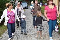 První školní den v ZŠ TGM ve Vimperku.
