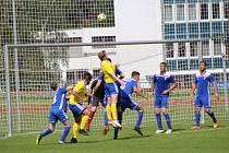Fotbalová příprava: Vimperk - Čkyně 2:1.