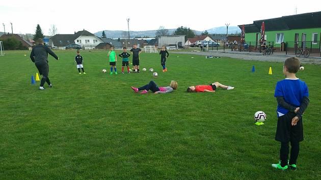 Volarský fotbalový potěr vyrazil po dlouhé koronavirové pauze na hřiště.