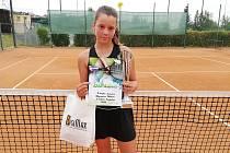 Patricie Wagnerová získala pro prachatický klub druhé místo.