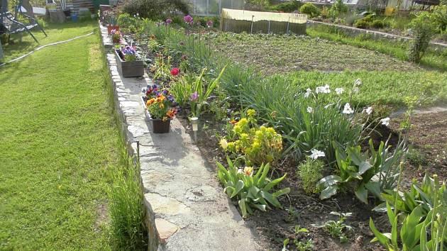 Zahrada manželů Smolových.