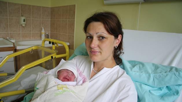Denisa Grabmüllerová se narodila ve čtvrtek 4. záři v 8.08 hodin v prachatické porodnici. Vážila 3160 gramů. Maminka Alena a tatínek Karel jsou z Vyšovatky.