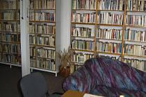 Prostory knihovny v Borových Ladech