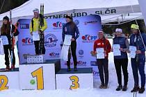 Starší dorostenka Barbora Havlíčková a junior Tomáš Kalivoda mají zlato z dlouhých tratí, Jirka Mánek ze sprintu.
