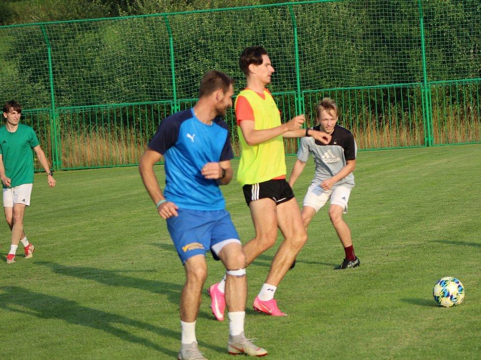 Fotbalisté Tatranu Prachatice se pečlivě připravují na novou sezonu.